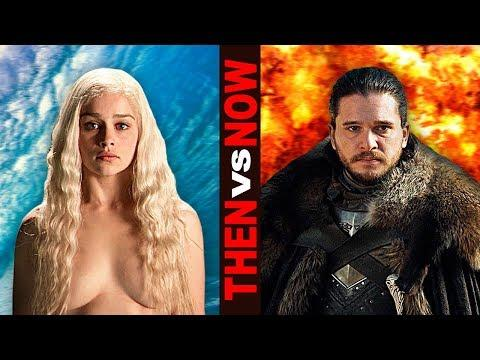 GAME OF THRONES: Season 1 Vs Season 7 - Then And Now